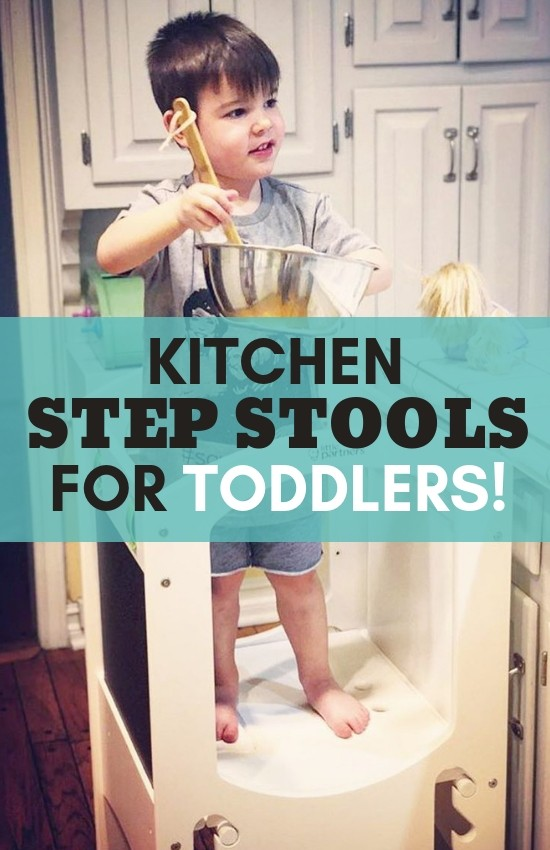 Kitchen Step Stools for Toddlers
