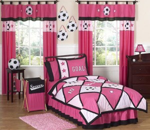 Football Curtains and Bedding Sets