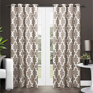 Trellis Pattern Curtains on Sale