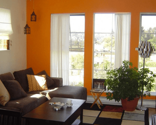 What Color Curtains Go With Orange Walls Lets Buy Best